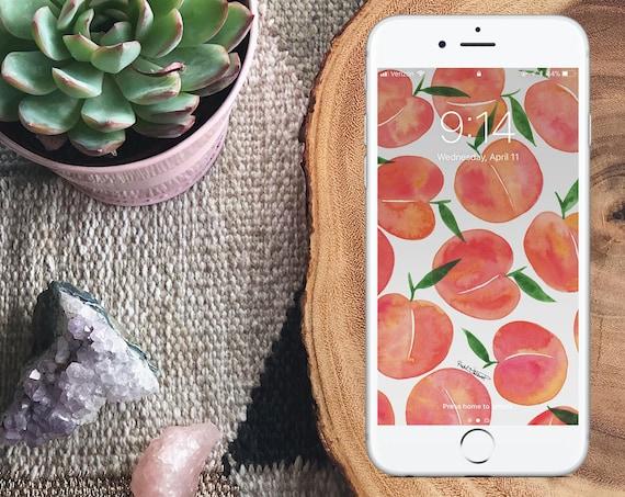 Just Peachy Wallpaper