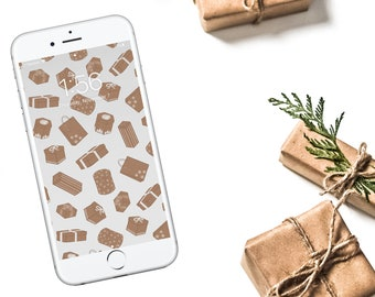 Gifts Galore Wallpaper - White