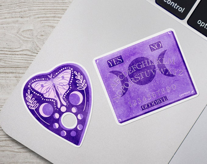 Featured listing image: Divination Duo Vinyl Stickers