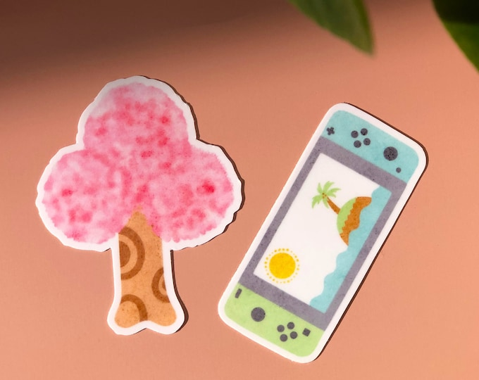 Featured listing image: Animal Crossing Vinyl Stickers