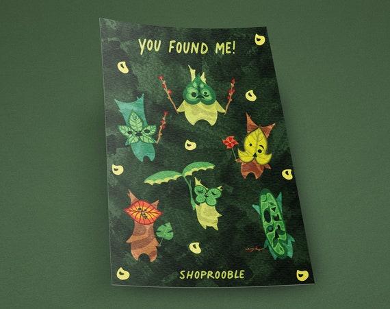 You Found Me! Korok Vinyl Sticker Set