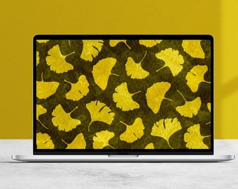 Autumn Ginkgo Desktop Wallpaper