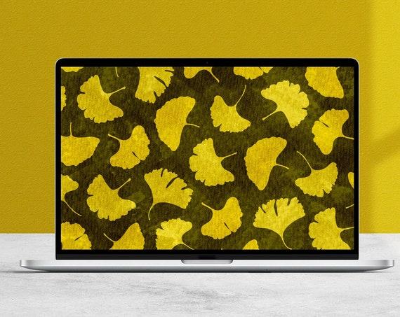 Autumn Ginkgo Desktop Wallpaper