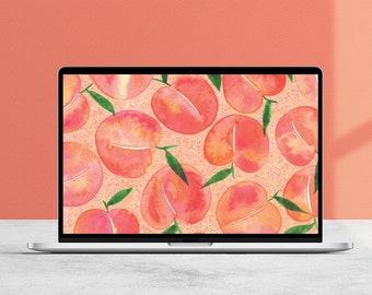 Just Peachy Desktop Wallpaper