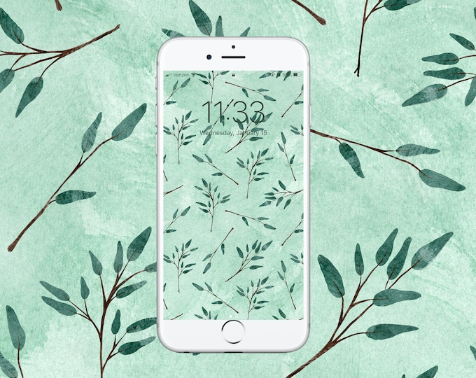 Featured listing image: Eucalyptus Wallpaper - 100% of proceeds will be DONATED to help Australia Brush Fire Victims