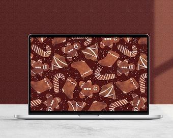 Gingerbread Desktop Wallpaper