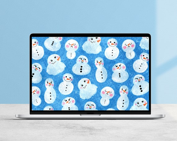 Snow Friends Desktop Wallpaper