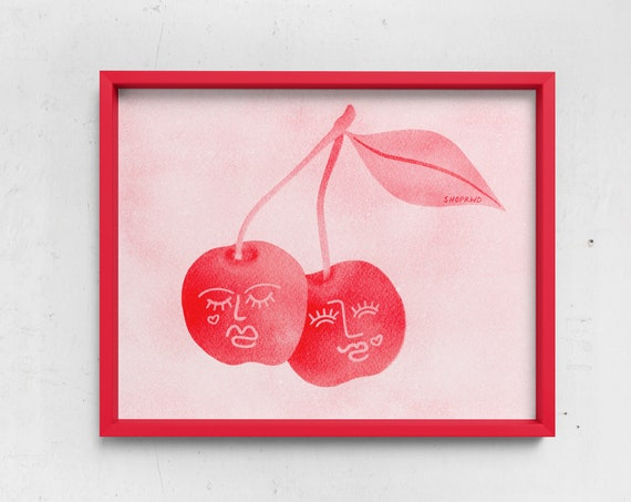 Cherry Lovers Print