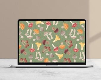 Autumn Foraging Desktop Wallpaper