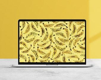 Funky Bananas Desktop Wallpaper