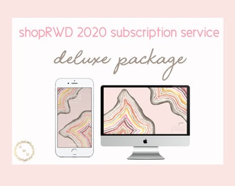 shopRWD 2020 Subscription Service - DELUXE PACKAGE - for iPhone & Android