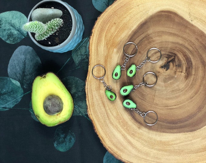 Featured listing image: Avocado Keychain