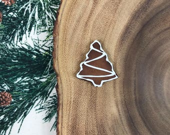 Gingerbread Tree Cookie Magnet