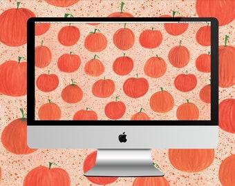 Pumpkin Patch Desktop Wallpaper