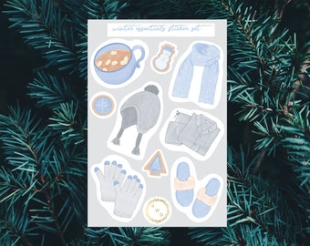 Winter Essentials Sticker Set