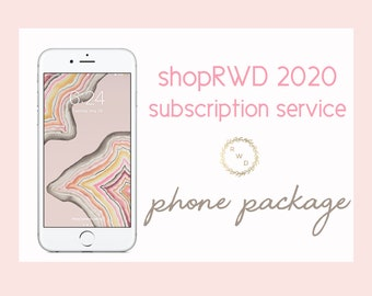 shopRWD 2020 Subscription Service - PHONE PACKAGE - for iPhone & Android