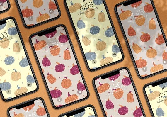 Fancy Pumpkins Phone Wallpaper Pack