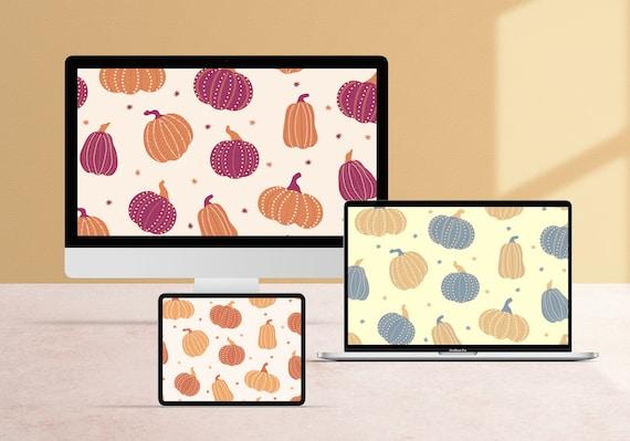 Fancy Pumpkins Desktop Wallpaper Pack