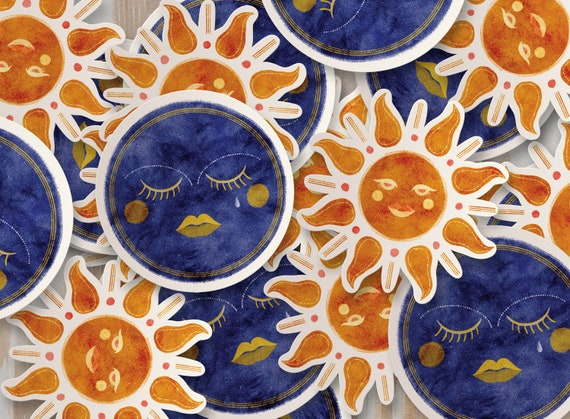 Celestial Ladies Vinyl Stickers
