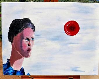 Focus - Acrylic Canvas Painting