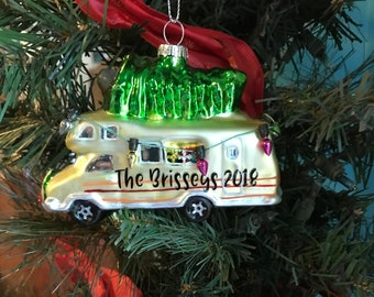 camper ornament family ornament christmas camper ornament christmas rv ornament family christmas gift