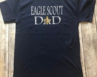 11a157ac Eagle Scout Dad Shirt - Eagle Scout Dad - Boy Scout - Scout - Troop Shirt -  Scout Volunteer - Eagle Scout