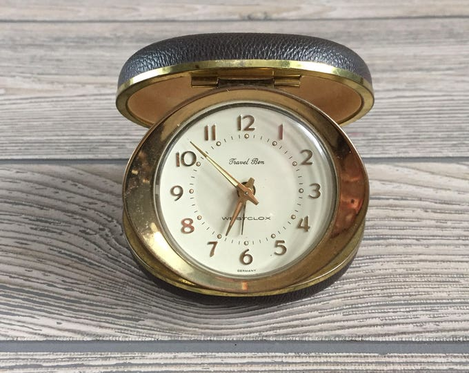 Featured listing image: Travel Ben Traveling Alarm Clock by Westclox
