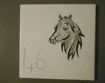 plate number horse head