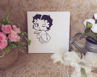 plate number Betty Boop