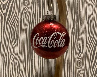 New Old Stock Coca Cola Christmas Ornament Picture Frame