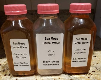 Sea Moss Water