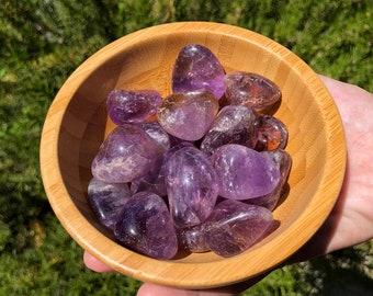 Ametrine Tumbled Stone