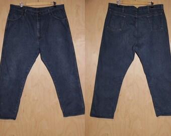 7d29fb75ddd Vintage 90s RUSTLER jeans 38 waist Rustler straight leg
