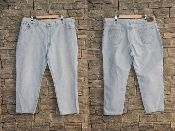 Vintage Plus Size Jeans , 90s FADED GLORY jeans ,