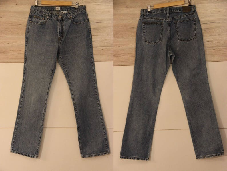 Professional Sale Mens Sz 34x30 Vtg Usa Made Polo Ralph Lauren Relaxed Fit Straight Leg Jean Brown Jeans Clothing, Shoes & Accessories