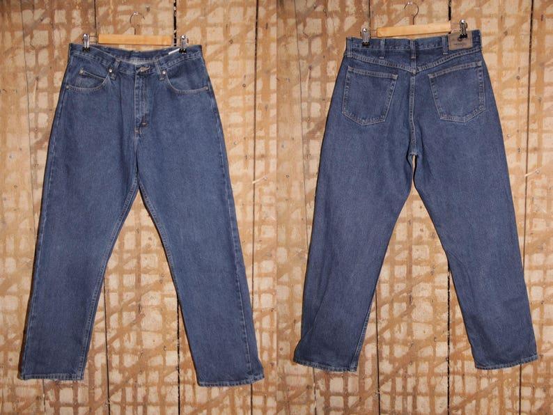34b89b49 90s WRANGLER Jeans Vintage Wrangler denim pants 34 35 | Etsy