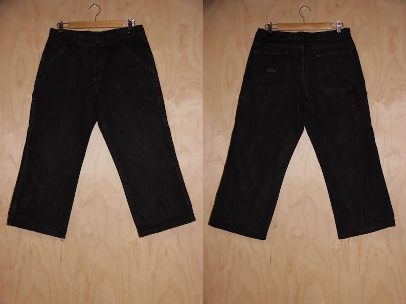 d5332217 90s Black WRANGLER Painters Jeans Straight Leg Cut Jeans | Etsy