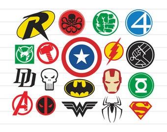 superhero svg etsy