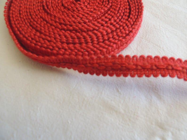 Braid red brick width 1 cm