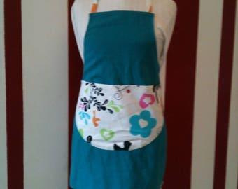 Vintage Korea Turquoise3 spirit apron