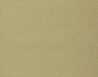 Plain gold sparkly cotton fabric coupon