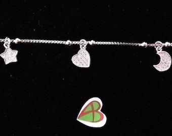Dream-Moon, Star, Love Bracelet