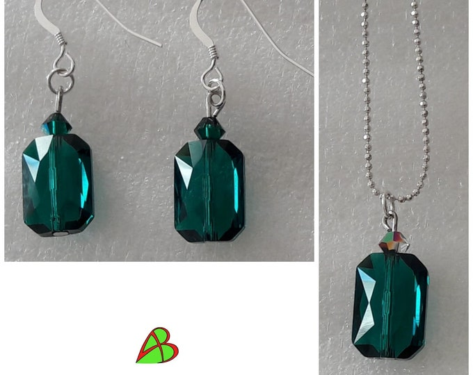 Swarovski Emerald Jewelry - Swarovski Emerald Jewels