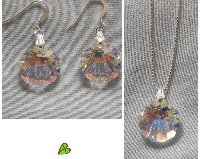 Swarovski Crystal Seashell Jewelry - Swarovski Crystal Seashell Jewels