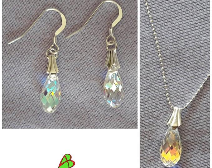 Swarovski Crystal Drop Jewelry - Swarovski Crystal Drop Jewels