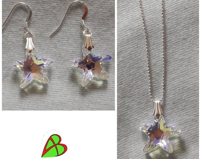 Swarovski Crystal Star Jewelry - Swarovski Crystal Star Jewels