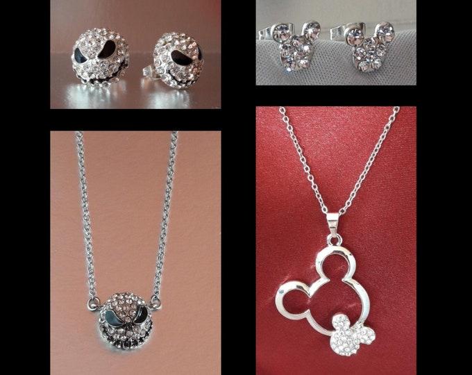 Jewellery Jack Skellington and Mickey Mouse - Parure