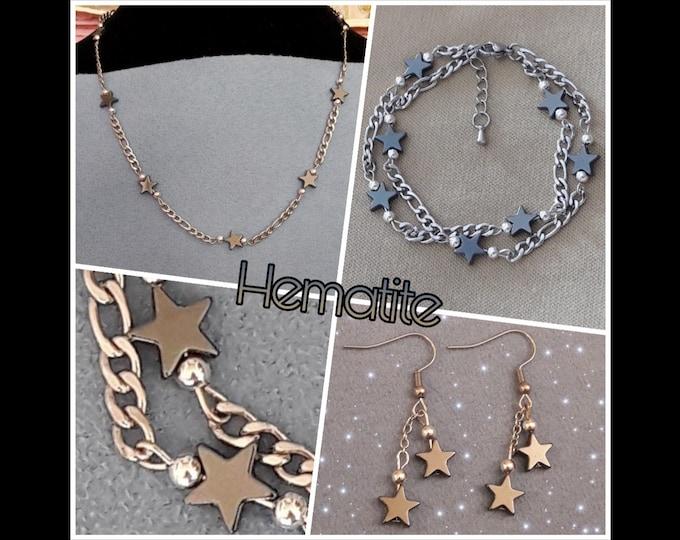 Jewelry Twinkle Star Ematite - Hematite Jewels