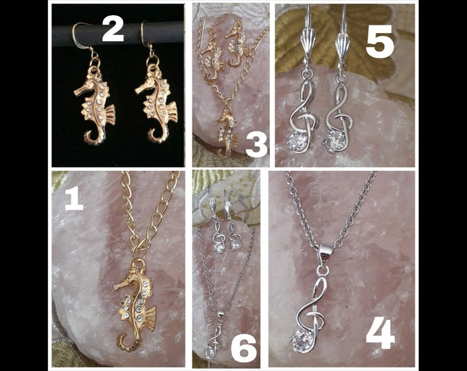 Jewellery Seahorse & Do King Mi - Parure