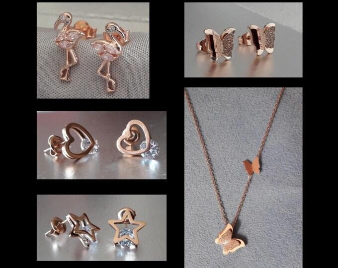 Rose Gold Jewelry - various fantasies